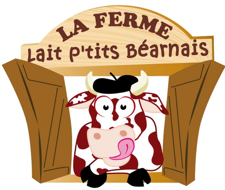 logo lait ptits béarnais